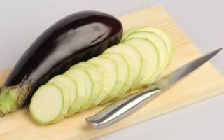 Как в духовке запечь баклажаны и кабачки
