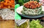 Лесная полянка с опятами салат рецепт с фото