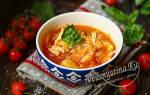 Рецепт щи из квашеной капусты с курицей
