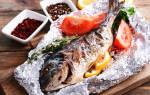 Рецепт запекания рыбы в духовке в фольге