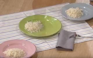 Сварить рис рассыпчатый в кастрюле для гарнира