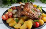 Приготовить ребрышки свиные с картошкой в духовке