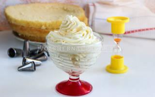 Крем для торта из масла и молока