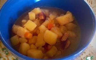 Рецепт картошки в мультиварке со свининой рецепт